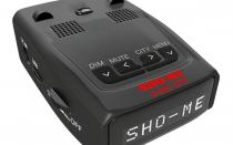Радар детектор SHO-ME G-800STR: отзывы, цена, фото, обзор