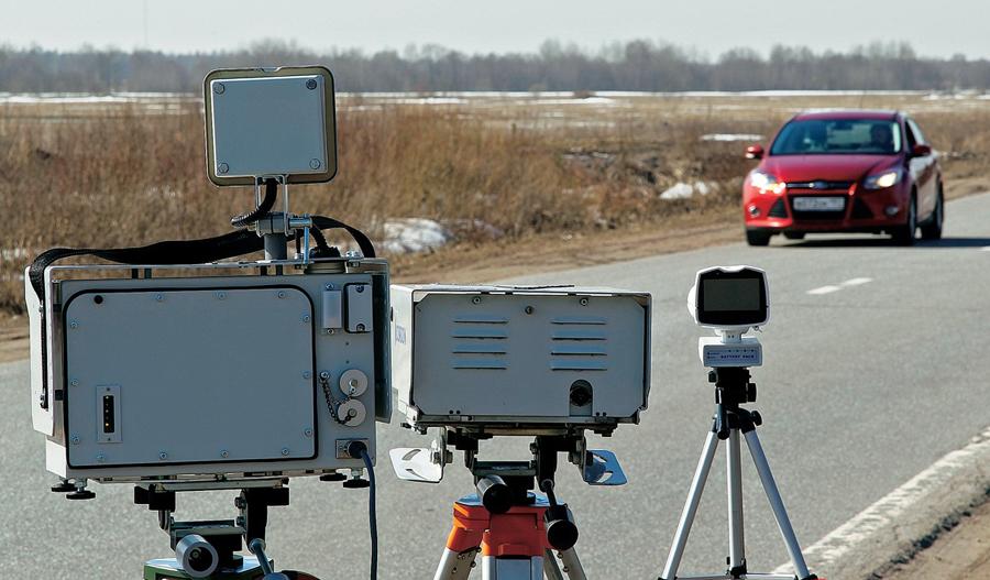 Радар детектор должен замечать все засады на дорогах