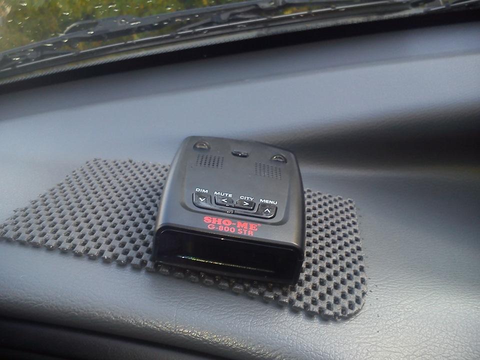 Радар детектор не занимает много места в автомобиле