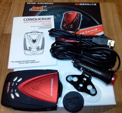 Conqueror GPS-899+