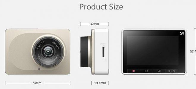 Видеорегистратор Xiaomi Yi WiFi DVR Характеристики. Отзывы. Цена. Обзор