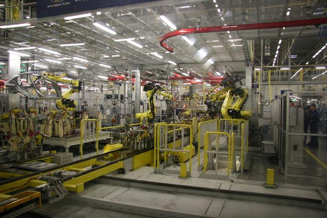 Завод компании в Питере