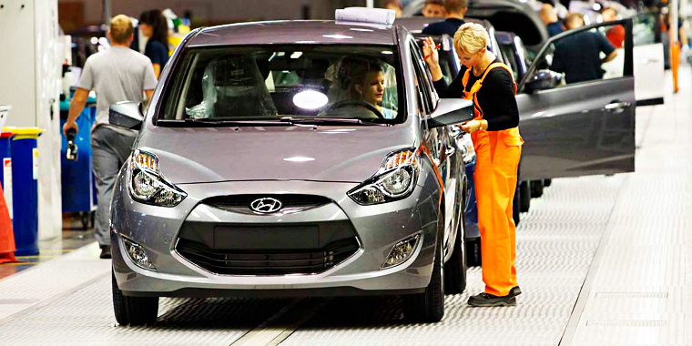 Автомобили собираются практически по всему миру