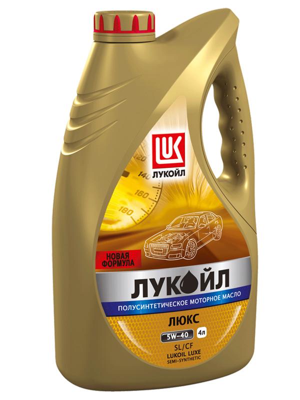 Лукойл Люкс полусинтетическое SL/CF 10W-40