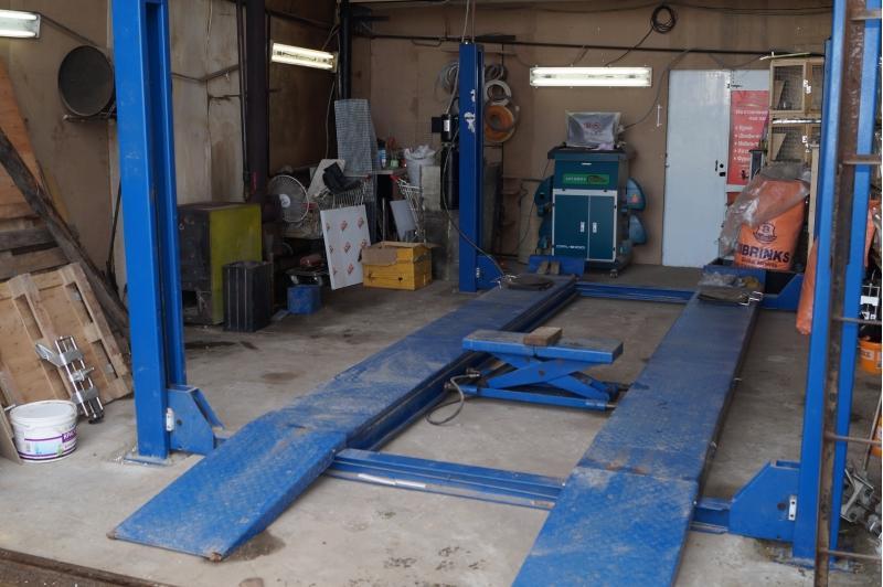 Оборудование среднестатистического гаража, причем, далеко не худшего
