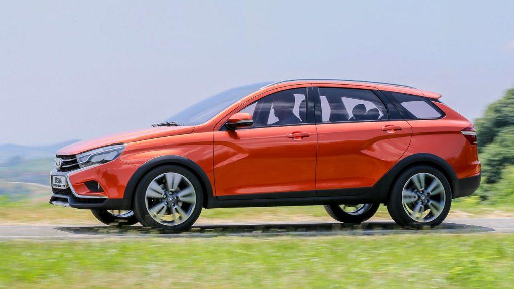 Лада Веста универсал 2017 в новом кузове комплектации и цены фото
