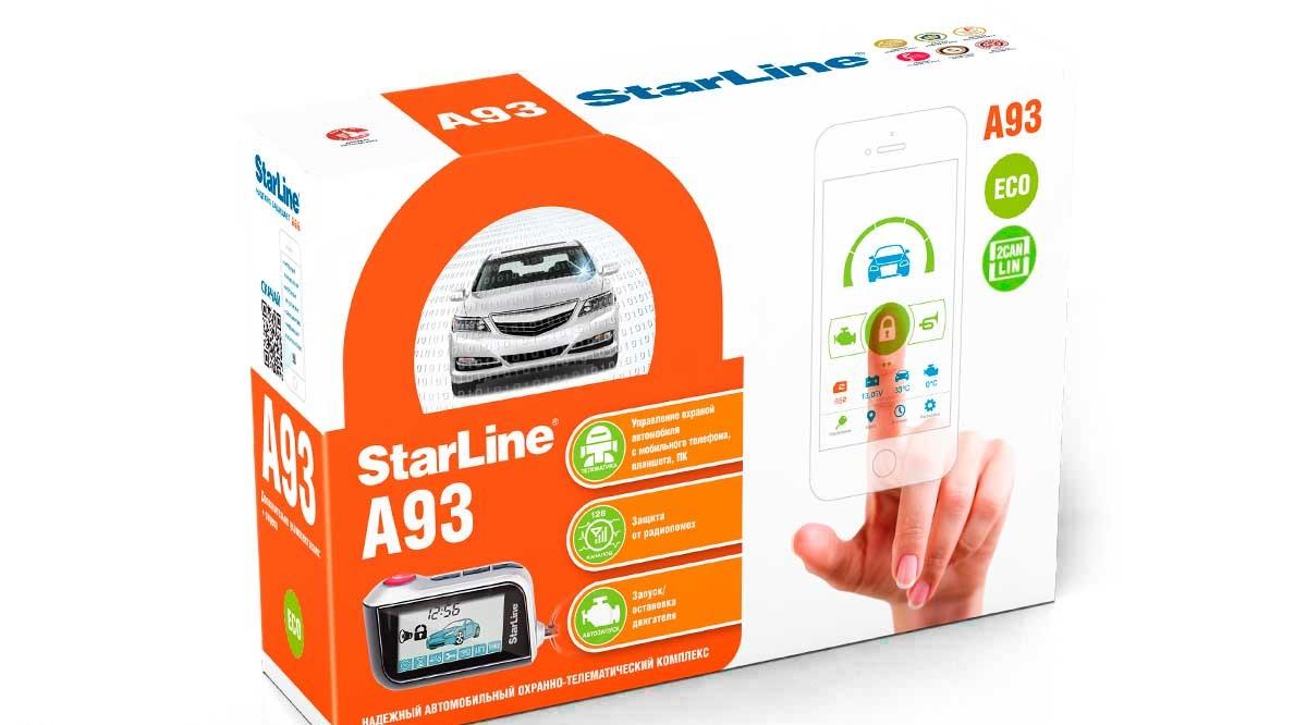 StarLine A93 2CAN+2LIN ECO